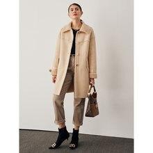 Женское зимнее Полушерстяное пальто короткие утепленные модные