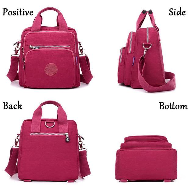 Women Messenger Bags Clutch Female Handbags Three Zipper Main Bag Woman Famous Brands Designer Shoulder Crossbody Bag Sac A Main 3