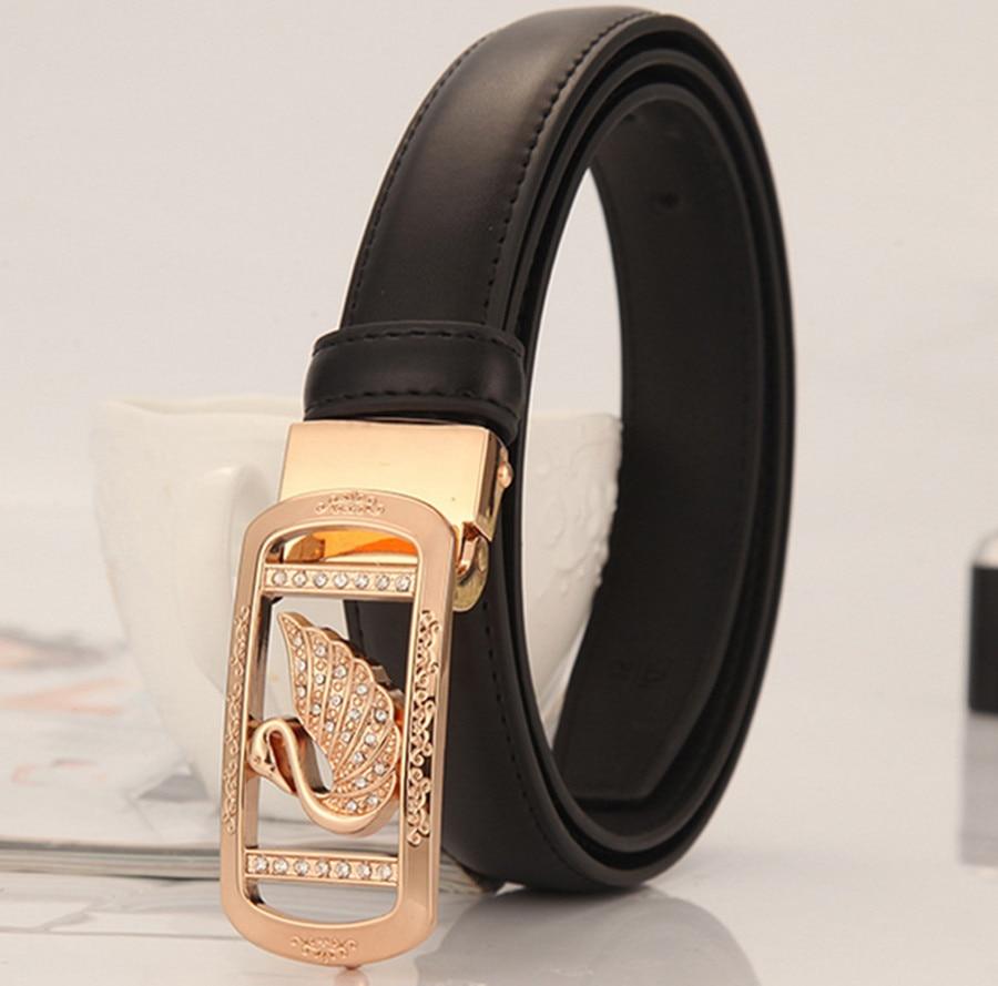 2020 Simple Joker Korean Decoration Korean Smooth Buckle Diamond Tide Fashion Personality Denim Belt