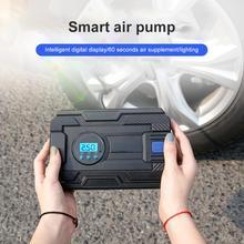 Professionnel voiture pneu gonfleur 12V numérique pneu pompe gonflable 150 PSI éclairage Auto compresseur d'air pour voitures roue pneus