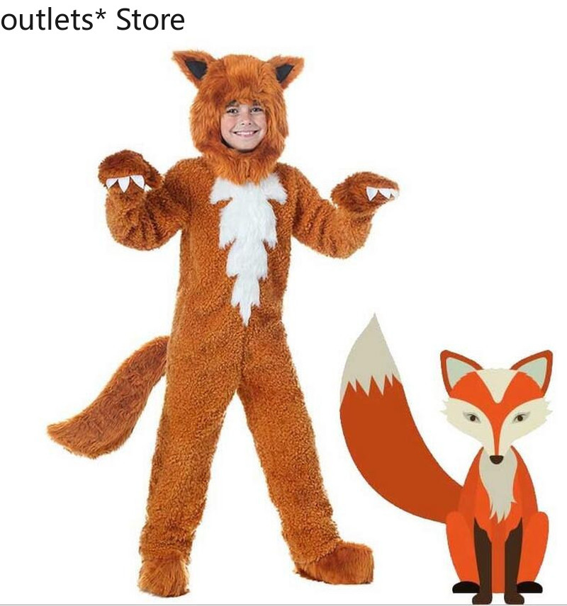 Fox Mascot Costume Suit Cosplay Party Game Fancy Dress Outfits Advertising Promotion Carnival Halloween Xmas Adults Child Parade(China)