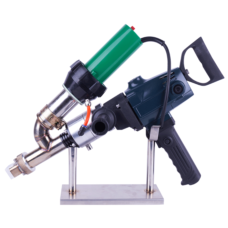 Geomembrane extruder Handheld welder Semi automatic welding extruder plastic solder HDPE extruder for plastic LST600F
