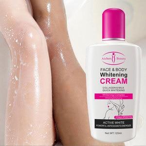 Collagen Milk Bleaching Face Body Cream skin whitening Moisturizing Body Lotion skin lightening cream