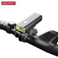 Gaciron V9CP-800 phare vélo lumière USB charge vélo lumière 800 Lumen lampe de poche IPX6 étanche vélo lumière accessoires