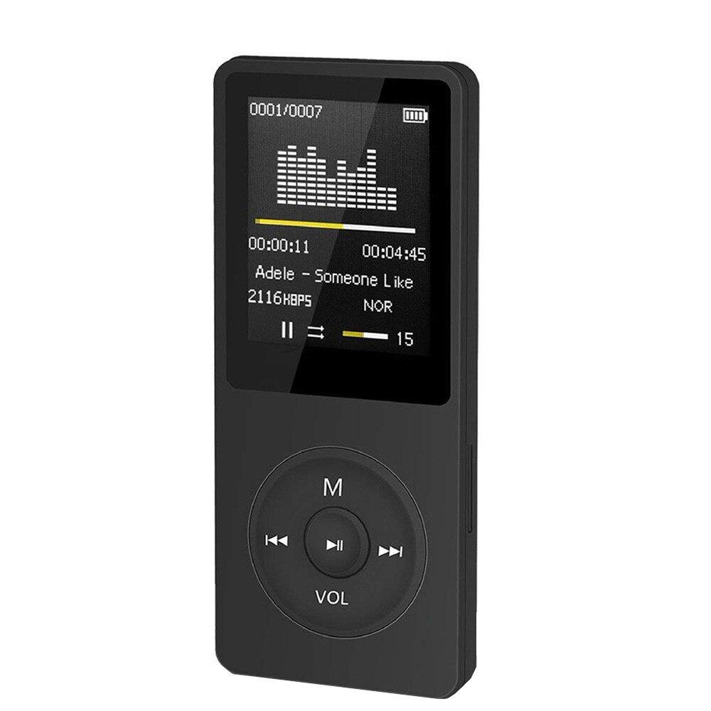 Быстрая доставка, музыкальные mp3-плееры, модный портативный MP3-плеер с ЖК-экраном, FM-радио, видео-игр, фильмов, плеер, Ультратонкий MP3-плеер