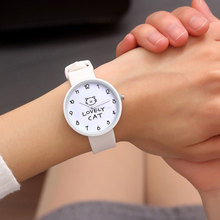 Simple Design Analog Watch Women Student Watches