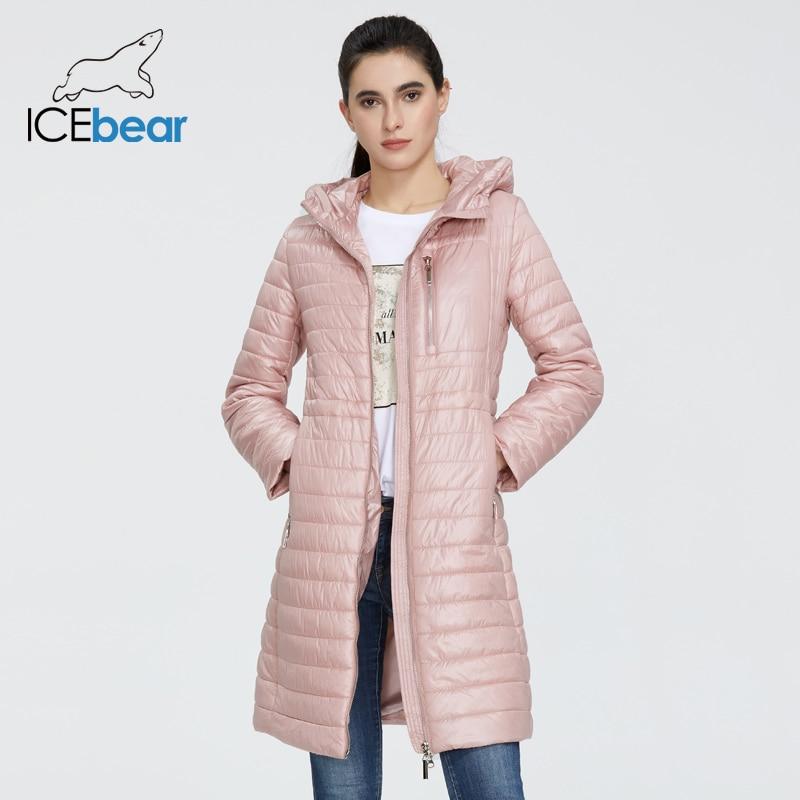 ICEbear 2020 New Women Spring Jacket High Quality Female Coat Ladies Jacket With Hood Fashion Clothes GWC20702I