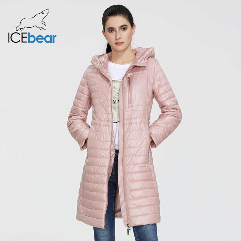 ICEbear 2020 새로운 여성 봄 자 켓 후드 패션 의류 gwc20702i와 고품질 여성 코트 숙 녀 자 켓
