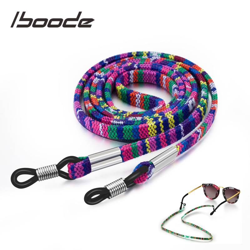 Iboode Retro Sun Glasses Chains Strap Colorful Sunglasses String Cord Retainer Strap Eyewear Lanyard Neck Hanging Holder