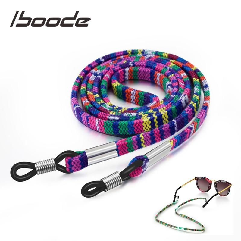 Iboode Retro Sun Glasses Chains Strap Colorful Sunglasses String Cord Retainer Strap Eyewear Lanyard Neck Hanging Holder