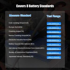 Image 5 - KONNWEI – KW210 testeur intelligent automatique de batterie de voiture, analyseur automatique de batterie de voiture, 100 à 2000CCA