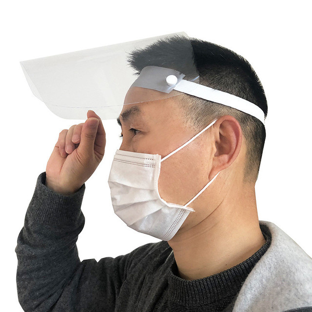 Full Face Mask Protective Mask Anti-fog Mask Windproof Face Mask Anti-dust Cooking Oil Splash Mask High Quality