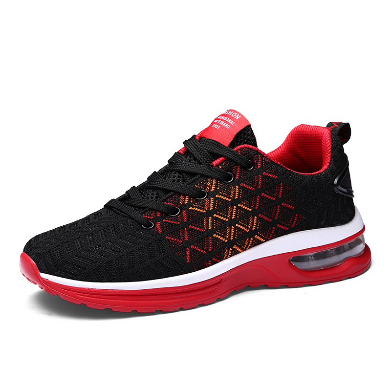 Running shoes men fashion lightweight breathable male sneakers outdoor fitness walk flats gym sport training shoes man