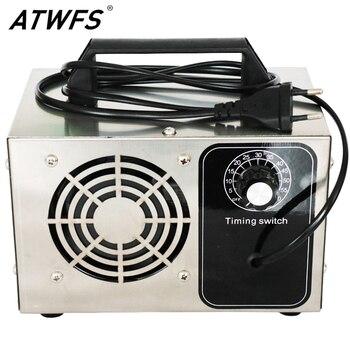 ATWFS Generatore di Ozono 220V 28g Protable O3 Macchina Ozonizzatore Purificatore D'aria di Casa Più Pulita Disinfezione Sterilizzatore Formaldeide 1