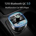 Автомобильный MP3-плеер CDEN с Bluetooth 5,0, приемником, FM-передатчиком, двумя USB-портами, автомобильное зарядное устройство, U-диск, TF-карта, аксессуа...