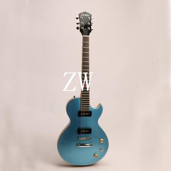 Top Quality Zuwei 6 Strings Electric Guitar Bone Nut Lp Style Grover Tuner Alnico Pickups ABR Bridge image