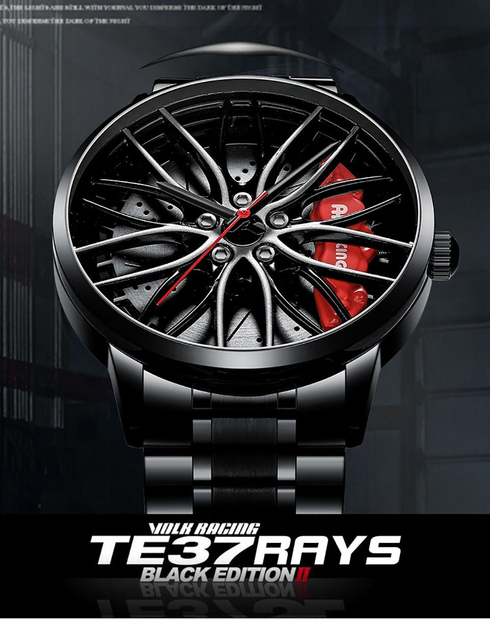 Hc0eb3f419fe645f39c19c8065f2cdeddC NEKTOM Sports Car Wheel Rim Hub Watches Men Custom Design Sport Car