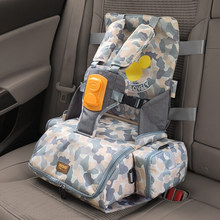 3 in 1 portable seat baby Feeding Booster Seat Mommy backpack large capacity bag