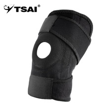 1pc kneepad Adjustable Sports Leg Knee Support Brace Wrap knee protector Pads Sleeve Cap Safety Knee Brace for basketball