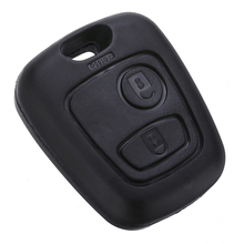 цена на Durable Remote 2 Button Key Fob Shell Case For Peugeot 107 207 307 407 106 206 306 406 For Citroen C1 C2 C3 C4 Car Key Cover