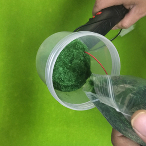 Image 3 - ABS Mini Static Grass Flocking Applicator with Antiskid Handle for DIY Scenic Modelling Sand Table
