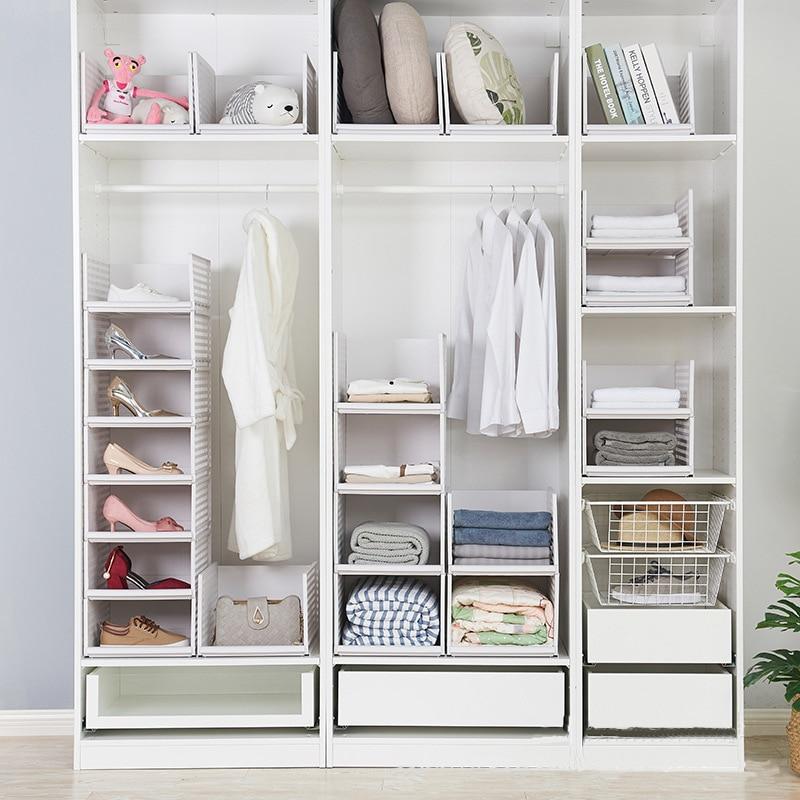Wardrobe Closet  Closet Organizer  Rack Kitchen Shelf Space Saving Wardrobe Decorative Shelves Cabinet Stand