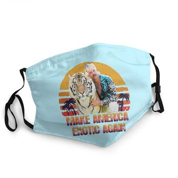 Joe Exotic Tiger King Animal Unisex Reusable Face Mask Documentary Anti Haze Anti Dust Protection Cover Respirator Mouth Muffle image
