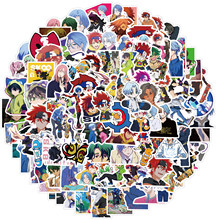10/50/100pcs/set Anime SK8 The Infinity Stickers For Kids Toy Bicycle Motorcycle Skateboard Laptop Waterproof DIY Decals