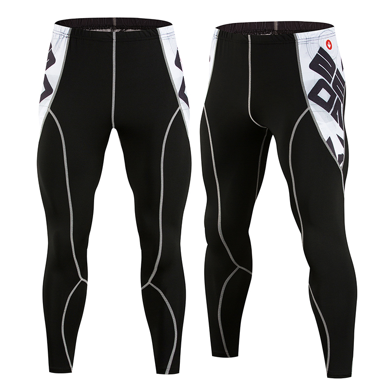 Men's Fitness Compression Pants Leggings Men's Sports Leggings Running Dry Sportswear Trousers Gym Training Pants Hombre
