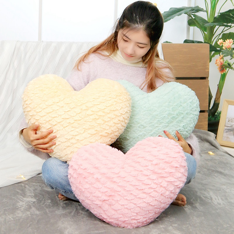 Image 4 - New Crown Plush Pillow Colorful Stuffed Soft Heart Square Rectangle Shape Throw Cushion Baby Kids Gift Girls Room DecorationPlush Pillows   -