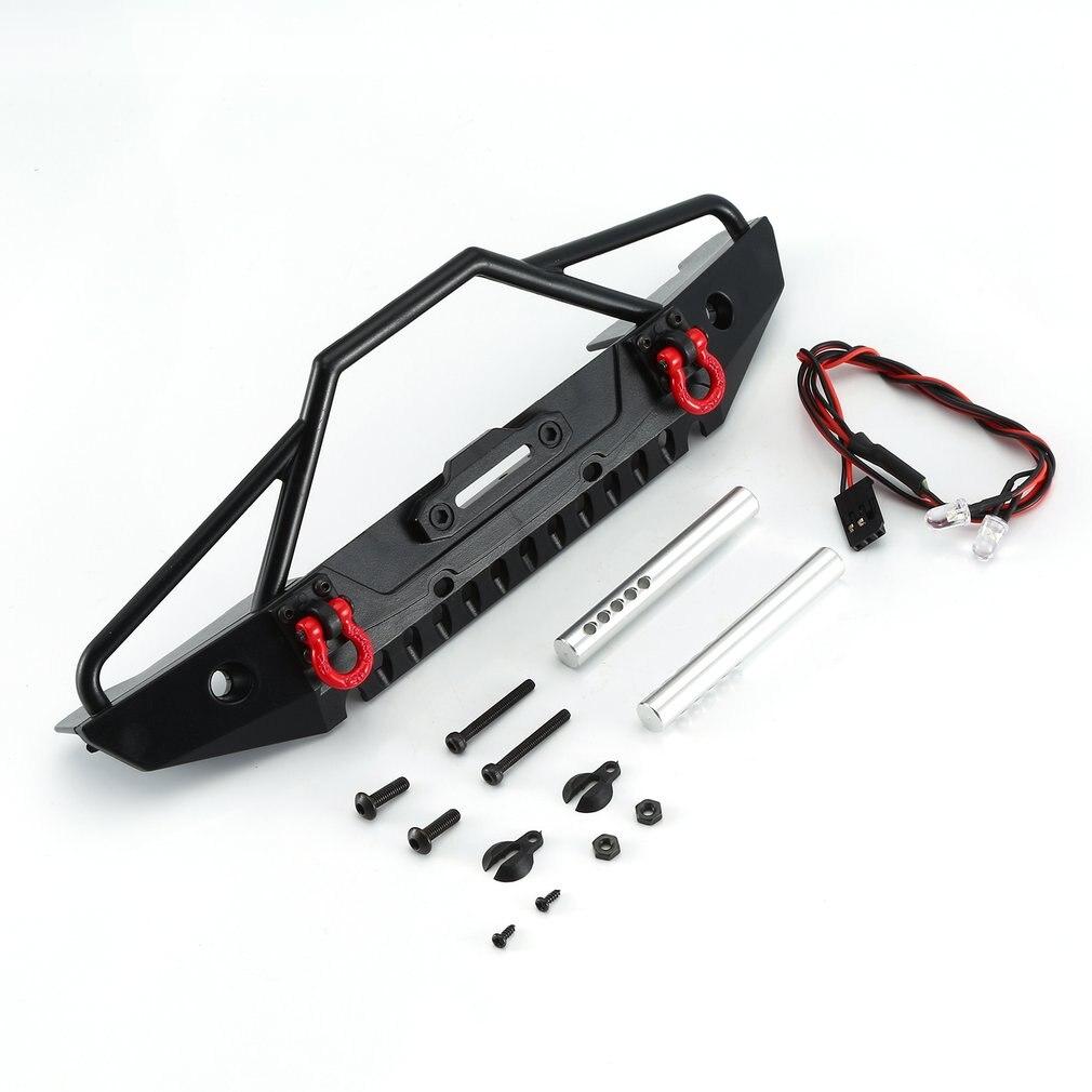 AXIAL SCX10 CNC Front & Rear Bumper Kit Bull Bar For 1/10 RC Crawler Car Axial SCX10 90046 TRX4 Rock Crawler RC Truck