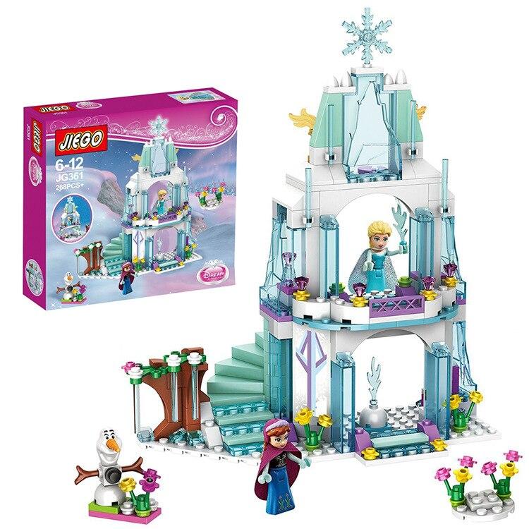 Frozen Elsa/&Anna Princess Castle Building Blocks Set Birthday Gift Figures Toy