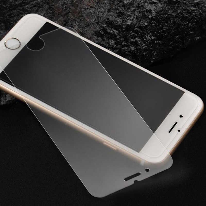 Matowe odciski palców szkło hartowane dla Iphone X XR XS 11 Pro MAX 8 7 6 6S Plus SE matowa folia na ekran folia ochronna