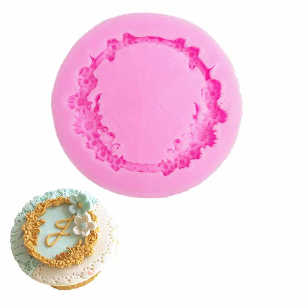 Molde de silicona 3D de 8 cavidades para hornear, herramientas de pastelería DIY, molde de pastel, horno, Pizza, hornear, molde de gelatina para cupcakes