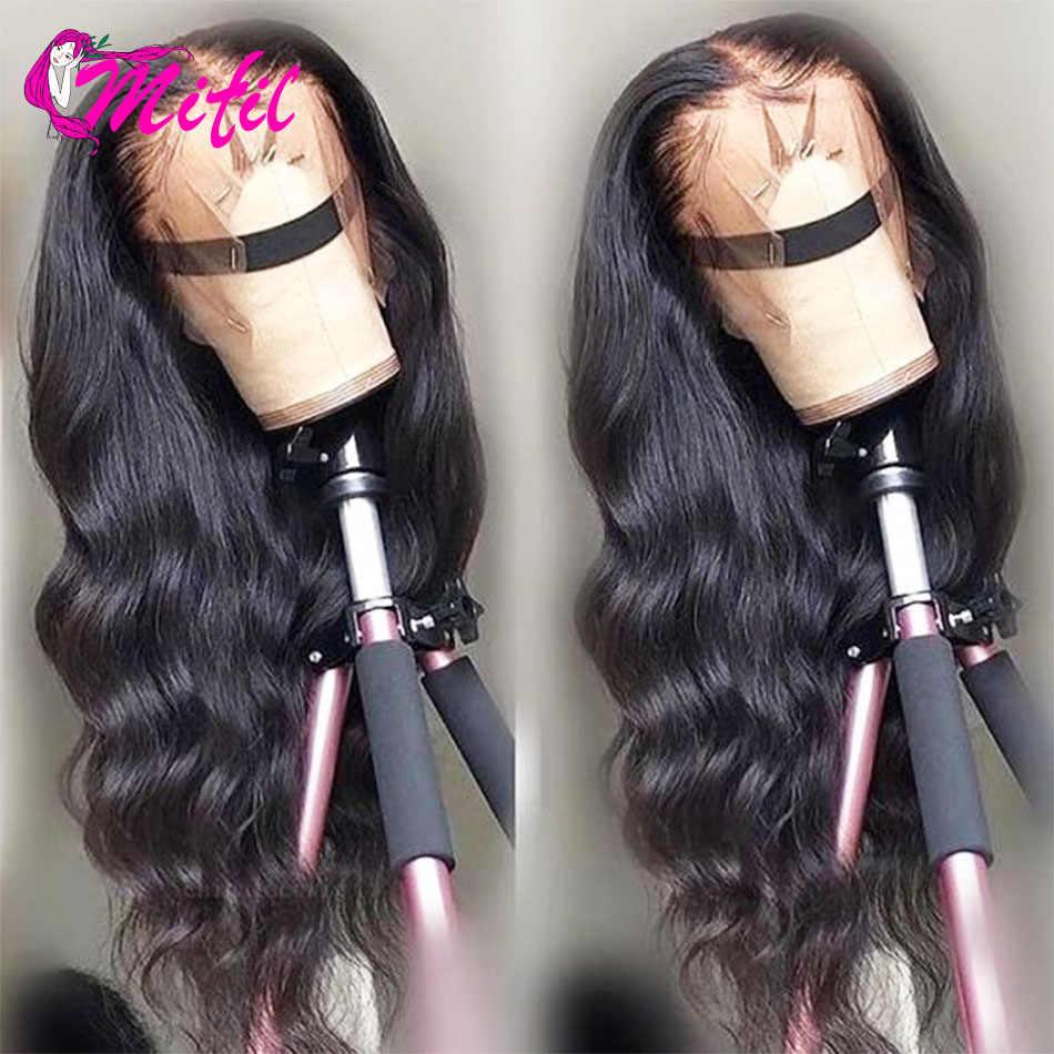 Mifil brazylijski ciało fala czołowa 13x6 koronki Frontal 100 Remy ludzki włos uzupełnienie splotu włosów Lace Closure ucha do ucha koronka Frontal zamknięcie