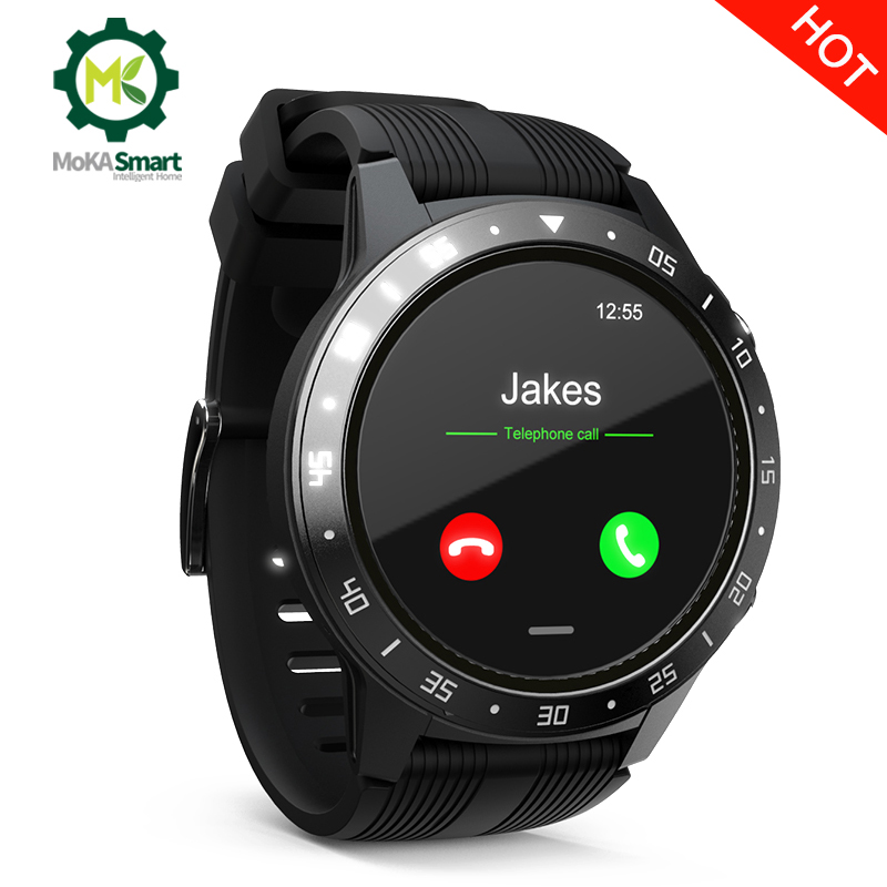 Sport smart watch men women Heart rate/blood pressure <font><b>monitoring</b></font> gps fitness tracker waterproof smartwatch android image