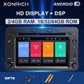 Автомобильный DVD-плеер  DSP 4 Гб 64 Гб 2 din Android 10 для Alfa Romeo 159 автомобиль Brera Spider Sportwagon Мультимедиа GPS Навигация Аудио