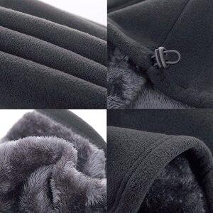 Зимний теплый многофункциональный шарф унисекс для улицы теплый флисовый шарф теплая вязаная шапка Лыжная Балаклава шейный обогреватель
