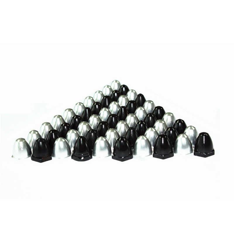 Acessórios do zangão diy profissional 2212 kv920 brushless motor cw ccw porca m6 6mm eixo hélice prop adaptador fixo porca tampa