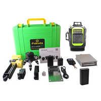 2pcs 4000MAH Battery 4D laser level 16 lines 515NM Green laser level Automatic Leveling 360 Vertical&Horizontal Tilt & Outdoor