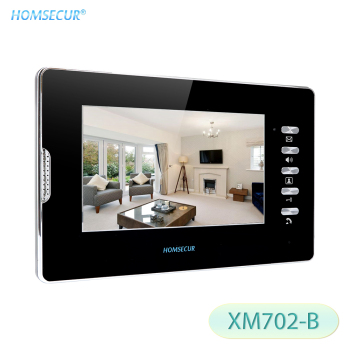 HOMSECUR 7inch Indoor Monitor XM702-B For Video Door Phone Intercom System