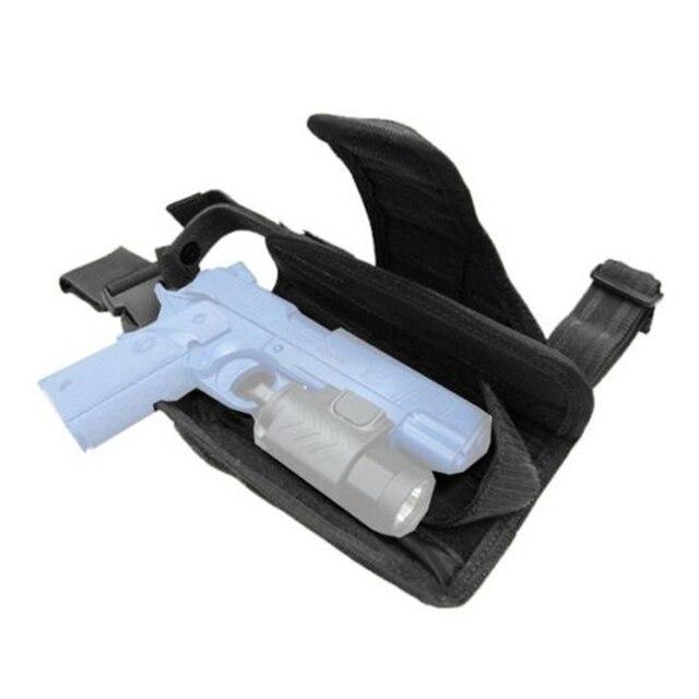 Drop Left/Right Leg Gun Holster gun bag for GLOCK 17/M9/P226/CZ 75 Revolver Leg Adjustable Airsoft Pistol Gun Case For Hunting 3