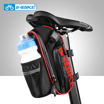 INBIKE Waterproof Cycling Bag Bicycle Bag  Saddle Bag Tail MTB Road BikeRear Seat Repair Cycling Accessories Water Bottle Hold rockbros bicycle saddle bag bike mtb road bike tools seat bag water bottle cycling bag waterproof cycling rear seat tail bag