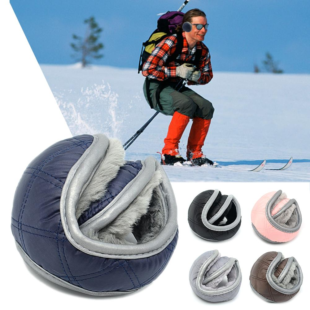 Outdoor Tool Winter Warm Snowboarding Plush Earmuffs Soft Folding For Men Women Camping Skiing Ear Cover Thicken Thermal Protect