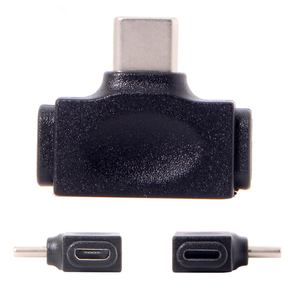 Image 5 - מיקרו USB 2.0 & נשים ברקים ל usb 3.1 סוג C זכר נתונים מתאם 2 ב 1 עבור טלפון & tablet