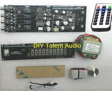 Fertig CS3310 Remote Vorverstärker Bord Mit VFD Display 4-weg Eingang Digital Volume Control Board mit transformator