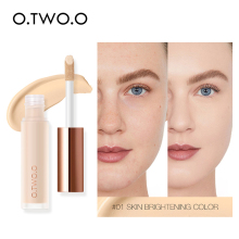 Liquid Concealer Cream Waterproof Full Coverage Moisturizing Long Lasting Face Scars Acne Cover Smooth Basic Makeup