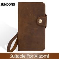 Flip Case For Xiaomi Mi 8 9 se 9T A1 A2 A3 lite Max 3 Mix 2s 3 Poco F1 Crazy horse skin Cover For Redmi Note 4X 5 6A 7 7A 8 Pro