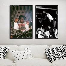 Playboi Carti Popular Music Album Hip Hop Rap Star Art Painting Canvas Poster Wall Home Decor Hight Quality Home Decor No Frame