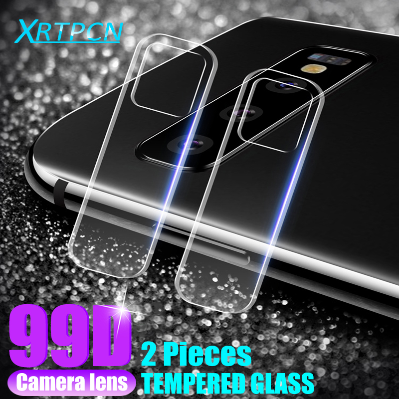 99D Back Lens Tempered Glass On The For Samsung Galaxy S10 S8 S9 Plus S7 Edge S10E Note 8 9 Camera Screen Protective Glass Film